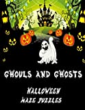 Ghouls and Ghosts: Follow Me |Boys and Girls how many of these scarey and spooky Halloween themed mazes can you find your way through | Designed for Kids and Adults alike with solutions