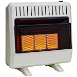Avenger FDT3IR Dual Fuel Ventless Infrared Heater, 30,000 BTU