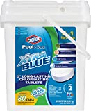 Clorox Pool&Spa Xtra Blue 3-Inch Long Lasting Chlorinating Tablets (40-Pound)