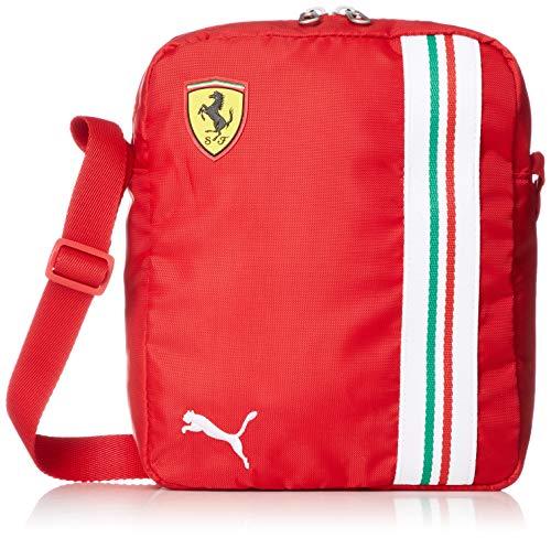 PUMA SF Ferrari Replica Portable Bandolera, Adultos Unisex, 1 (Negro), Talla Única