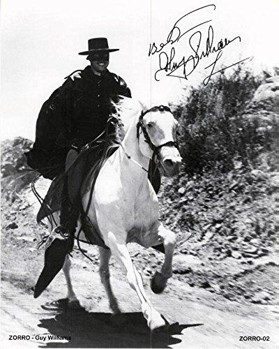 Zorro Guy Williams 8 x 10 Photo