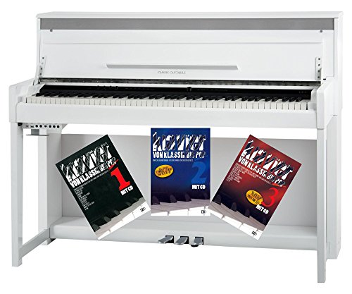 Classic Cantabile - Piano digital (256 aumentos, incluye escuela)