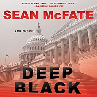 Deep Black audiobook cover art