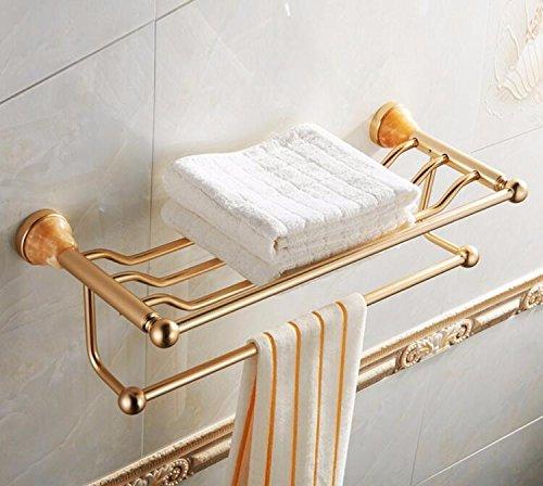 Toallero Simple o Aki Rack de almacenamiento en el baño, montado en la pared 63 * 25Cm
