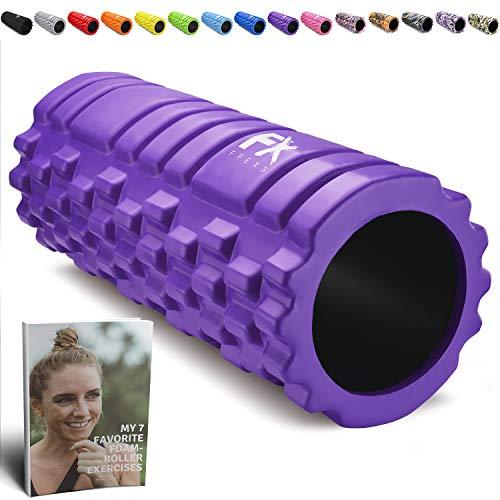 Rodillo de Espuma Foam Roller Pilates para Terapia de Masaje
