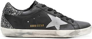 [ゴールデングース] GGDB [GOLDEN GOOSE DELUXE BRAND] レディース スーパースター レザー スニーカー ブラック系 [並行輸入品]