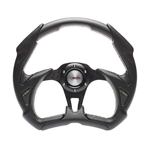 Simoni Racing X5350PUN/P volante deportivo, negro