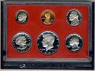 1981 S Clad Proof 5 Coin Set in Original Government Packaging Proof