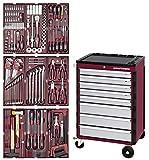 3908-4911. Servante 8 tiroirs HIGHTECH + 191 outils Kraftwerk