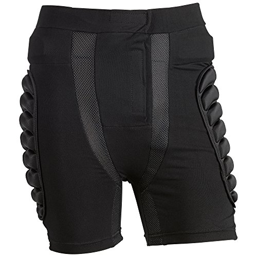 OMID Padded Shorts - Breathable Lightweight Hip Butt EVA Protective Gear Guard Pants for Motorcross, Cycling, Skiing for Men, Women