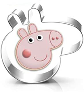Cartoon pig Cookie Cutter- Stainless Steel
