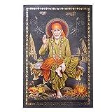 Bild Sai Baba Heiliger Vater 33 x 48 cm Kunstdruck Plakat