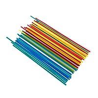 溶接棒 PP PVCのプラスチック電極50pcsのプラスチック溶接棒のための車のバンパーの修理プラスチック溶接機のスティックキットハンドツール (Material : 50pcs Welding Rods)