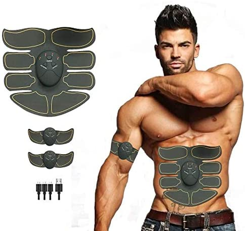 Y S Styles Abs Stimulator for Men and Women EMS Muscle Stimulator Rechargeable Muscle Trainer product image
