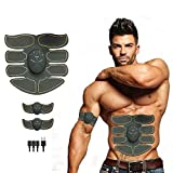 Y&S Styles Abs Stimulator for Men and Women- EMS Muscle Stimulator -Rechargeable Muscle Trainer- Abs Stimulating Belt – Abdominal Muscle Toning Belt-Arm and Leg Trainer, Home Gym Fitness Equipment