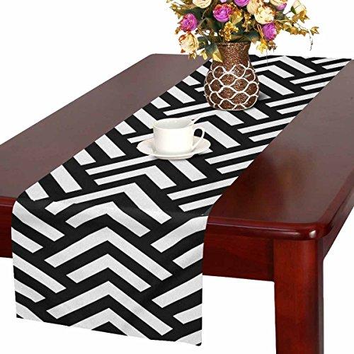Zenzzle Camino de mesa de 16 pulgadas x 72 pulgadas estampado con patrón...