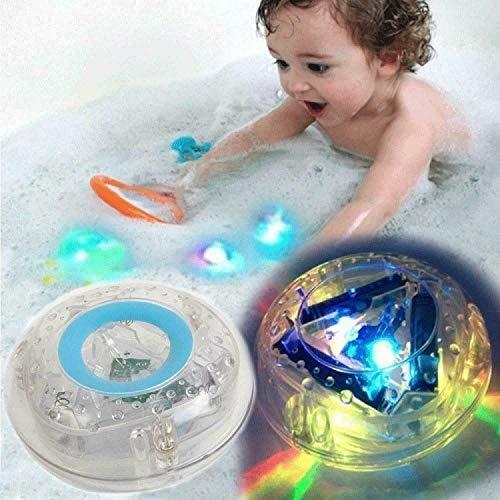 RHP Kinder Lichter Badewanne Wasserdicht Bunten Badezimmer LED-Leuchten Schwimmendes Spielzeug Planschbecken Freibad Pool Zubehör Schwimmbad Gartenbrunnen