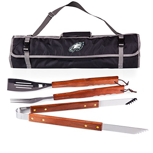 NFL Philadelphia Eagles 3-Piece BBQ Tool Tote