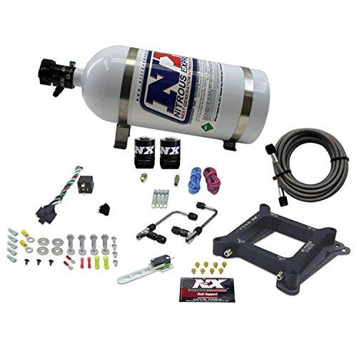 Nitrous Express 60040-10 4150 50-300 PS Zwillingsstufe 6 Plattensystem mit 4,5 kg Flasche