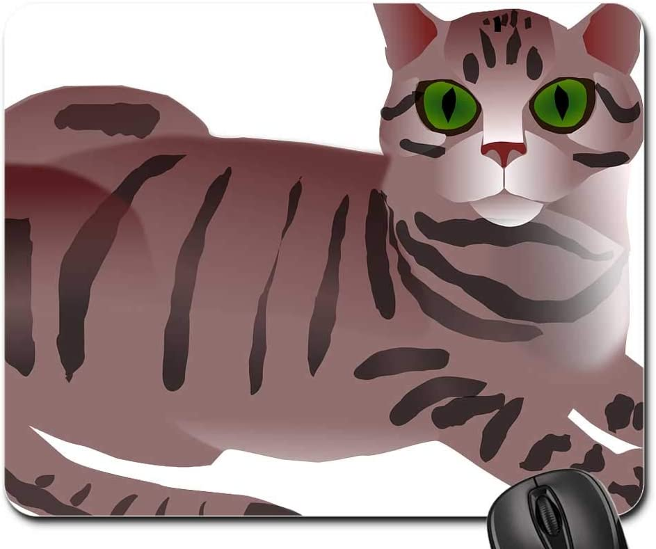 Mouse Pad Sale Special Price - Tabby Max 65% OFF Cat Brown Striped Cute Feline Pet