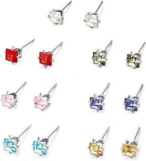 Mestige Princess Everyday Pack Stud Earrings with Swarovski® Crystals, Gift