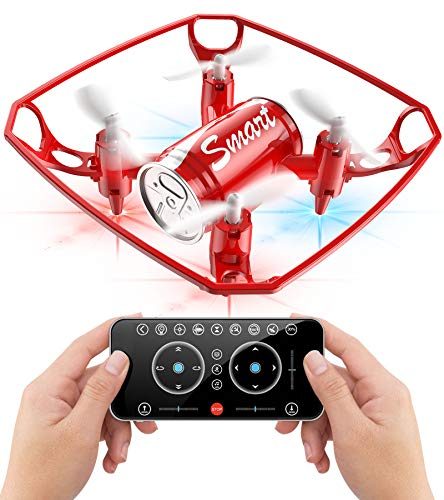 POWERbeast Mini Drone for Kids, Best Drone for Kids and Beginners APP Operated Quadcopter with Optical Flow, Trajectory Flight &Gravity Control, Dancing Fly to Music, Flying Toys for Boys Girls Gifts
