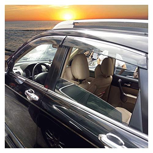 MYDH Windabweiser Für Honda CR-V 2003 2004 2005 2006 4 Teile/Satz Fenstervisiere ABS-Plastik Sonnenregenschild Aufkleber Abdeckungen Hxjh