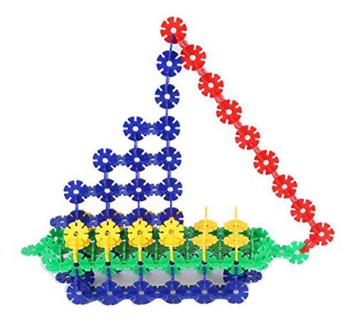 Blocs de Neige assemblés Blocs Jouets éducatifs pour enfants-400pc / Box