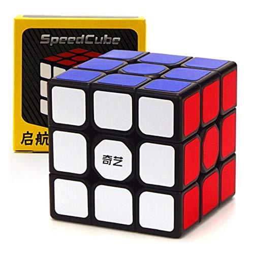 OJIN QiYi MO FANG GE Thunderclap V2 3x3 Zauberw/ürfel MoFangGe Leishen mit Einem W/ürfelstativ Schwarz