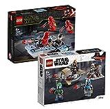 LEGO Star Wars 75266 Sith Troopers - Juego de batalla y batalla de mandalorian (2 unidades)