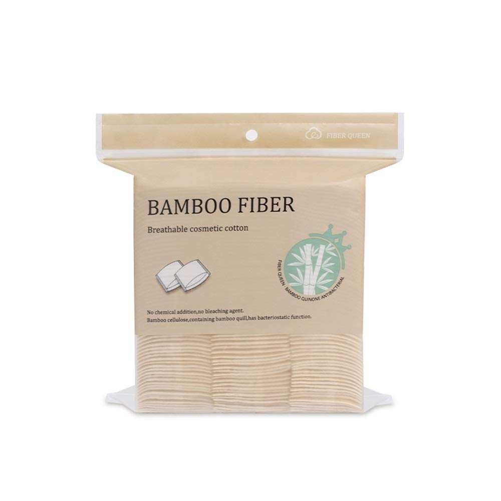 YHJIAKUN Bamboo Max 90% OFF Fiber Cotton Pads Dry Soft Shipping included Tissue Wipes