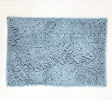 NEOMI Alfombrilla de baño, Antideslizante, de Microfibra, Chenille (Cielo Azul)