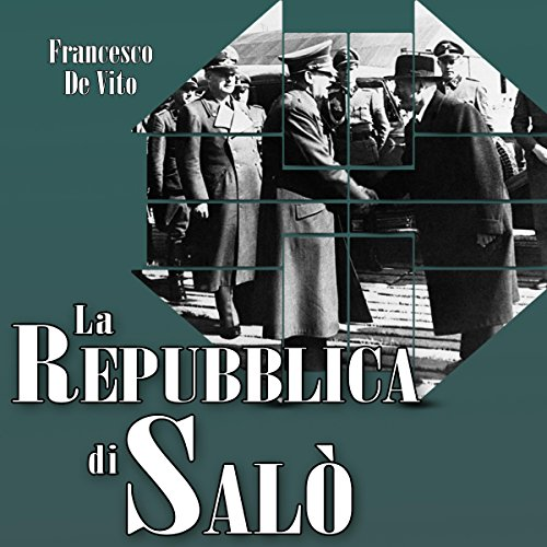 La Repubblica di Salò audiobook cover art