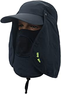 Sun Hat Summer Hats for Men Women Breathable Sun Caps Outdoor Balaclava  Face mask 964483987645