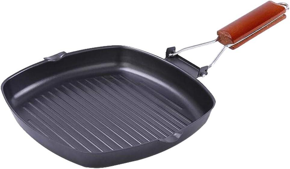 size2 joyMerit Cooks Nonstick Restaurant Style Saute Skillet Fry Pan Black