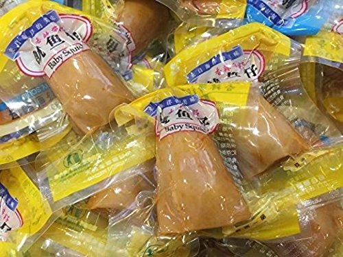 Vakuum verpackt Spicy Meeresfrüchte Squid Snack 3 pound 1362 grams from China Sea