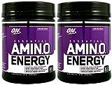 Optimum Nutrition Amino Energy 65 Servings, Concord Grape (2 Pack)