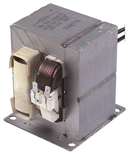 Cookmax Hochspannungstransformator RTRN-A717WRZZ für Mikrowelle 213001 50Hz 230/240V 230/240V primär