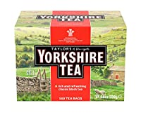 Taylors of Harrogate, Yorkshire Tea Bags 160 Count 500g by Yorkshire Tea