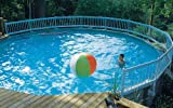 Vinyl Works Resin Above-Ground Pool Fence Kit - 36-Inch Fence Kit A (8 Sections)