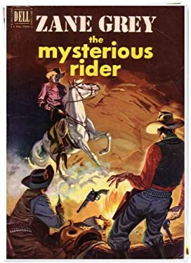 The Mysterious Rider: American Western Fiction (Illustrated)