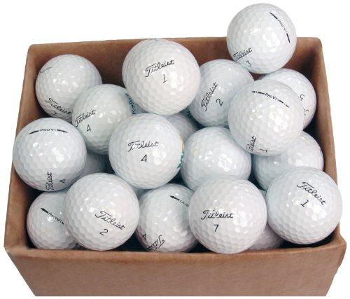 REPLAY Golf Titleist Prov1 - Confezione da 50 palle da golf, colore cartone