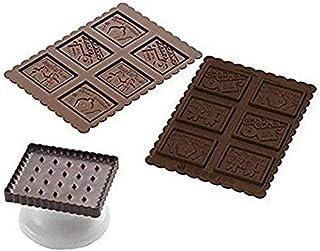 Silikomart 22.164.77.0165 CKC04 Kit de cookie choc
