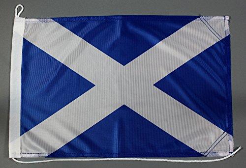 Bootsflagge Schottland 30 x 45 cm in Profiqualität Flagge Motorradflagge