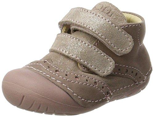 Primigi Ple 8002, Zapatos de bebé Niñas, Rosa (Taupe/Rosa Ant), 18 EU