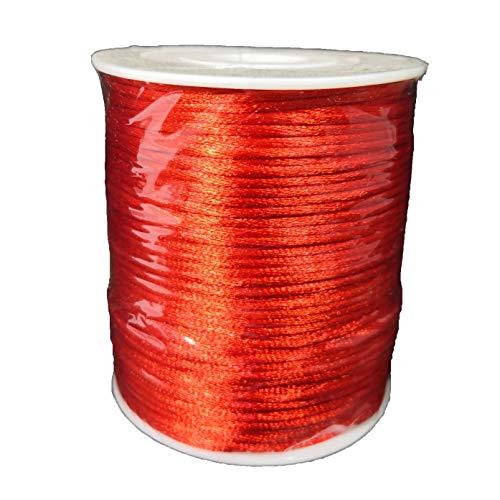 Nastro Cordoncino Coda di topo Rosso 2 mm x 100 metri