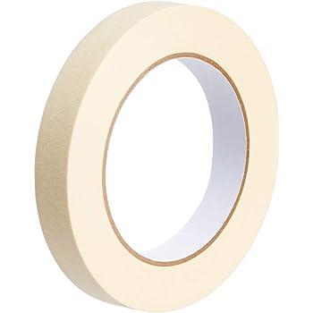 AmazonBasics Masking Tape - 0.7 Inch x 180 Feet - 3 Rolls