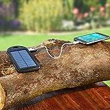 Pureday PowerBank, Solar, 4000mAh - Negro...