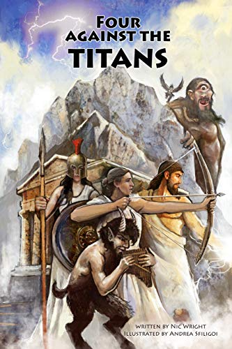 Four Against the Titans: Greek mythology pen-and-paper solo adventure game