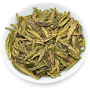 Longjing Dragon Well Green Tea Loose Leaf, Chinese Long Jing Pre-Qingming Tea, Mingqian Lung Ching (500g Bulk Size)